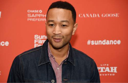 "Singer John Legend, executive producer of ""Southside With You,"" poses at the premiere of the film at the 2016 Sundance Film Festival on Sunday, Jan. 24, 2016, in Park City, Utah. (Photo by Chris Pizzello/Invision/AP)"