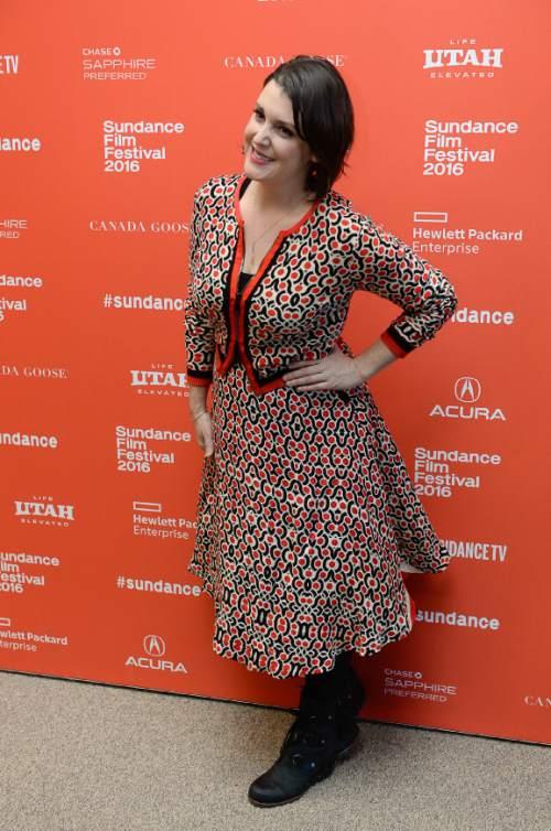 "Francisco Kjolseth | The Salt Lake Tribune Actor Melanie Lynskey walks the press line for the premiere of ""The Intervention"" on Tuesday, Jan. 26, at the 2016 Sundance Film Festival in Park City."