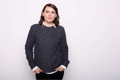 """Actress, writer, and director Clea DuVall poses for a portrait to promote the film, """"The Intervention"""", at the Toyota Mirai Music Lodge during the Sundance Film Festival on Tuesday, Jan. 26, 2016 in Park City, Utah. (Photo by Matt Sayles/Invision/AP)"""