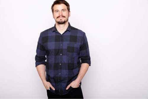 """Actor Jason Ritter poses for a portrait to promote the film, """"The Intervention"""", at the Toyota Mirai Music Lodge during the Sundance Film Festival on Tuesday, Jan. 26, 2016 in Park City, Utah. (Photo by Matt Sayles/Invision/AP)"""