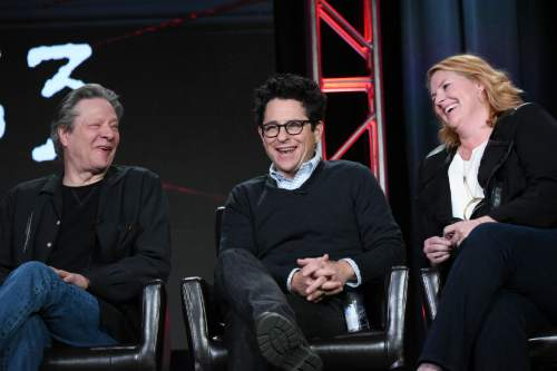 "Richard Shotwell  |  TheAssociated Press Actor Chris Cooper, left, executive producers J.J. Abrams and Bridget Carpenter participate in the ""11.23.63"" panel at the Hulu 2016 Winter TCA last week in Pasadena, Calif. This year's Sundance Film Festival will feature a stronger showing from television productions."