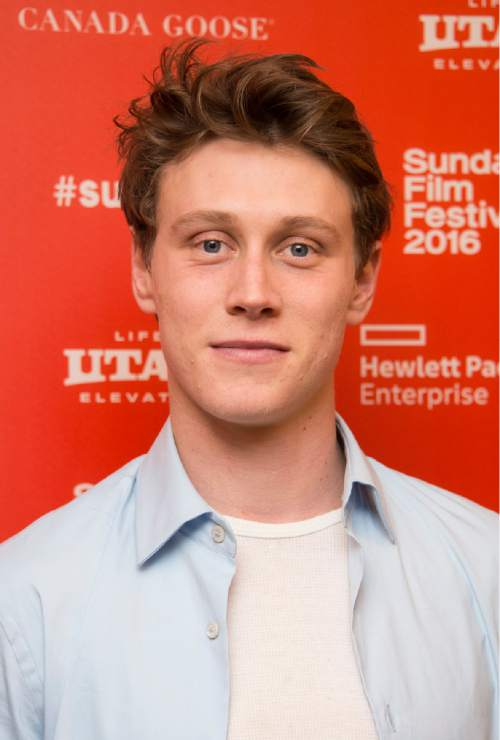 "Actor George MacKay poses at the premiere of ""11.22.63"" during the 2016 Sundance Film Festival on Thursday, Jan. 28, 2016, in Park City, Utah. (Photo by Arthur Mola/Invision/AP)"