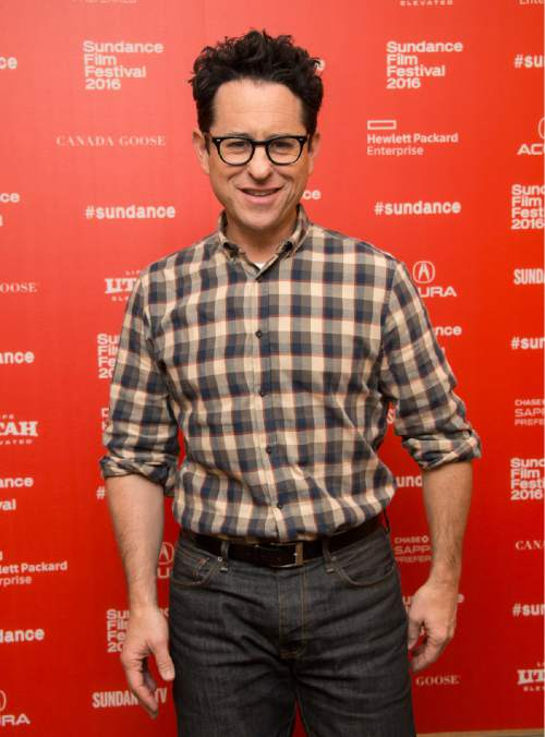 "Executive producer J.J. Abrams poses at the premiere of ""11.22.63"" during the 2016 Sundance Film Festival on Thursday, Jan. 28, 2016, in Park City, Utah. (Photo by Arthur Mola/Invision/AP)"