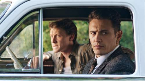 "George MacKay and James Franco star in ""11.22.63.""  Courtesy Hulu"