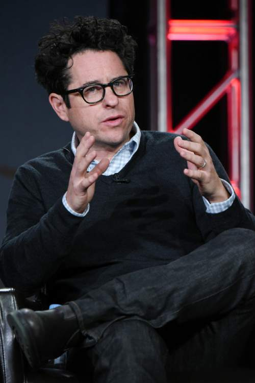 "Executive producer J.J. Abrams participates in the ""11.23.63"" panel at the Hulu 2016 Winter TCA on Saturday, Jan. 9, 2016, in Pasadena, Calif. (Photo by Richard Shotwell/Invision/AP)"