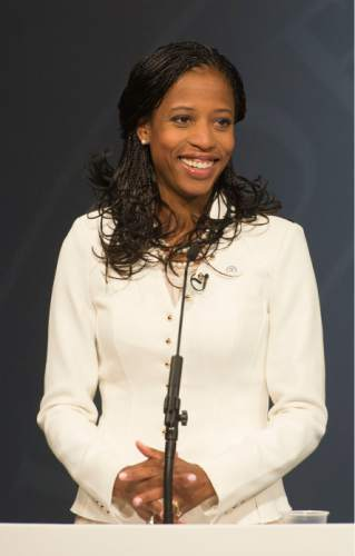 Steve Griffin  |  Tribune file photo  While Rep. Mia Love's campaign lagged Doug Owens for the first time in recent weeks, her campaign says she is on track going into the 2016 election.