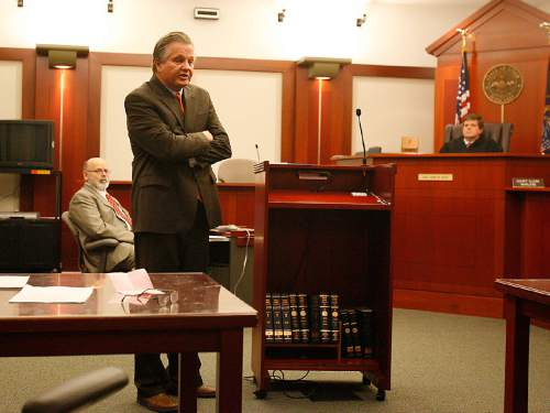 Tribune file photo Robert Stott addresses the court during the arraignment of Craig Roger Gregerson, where he pleaded guilty and was sentenced to life without parole in 2006.