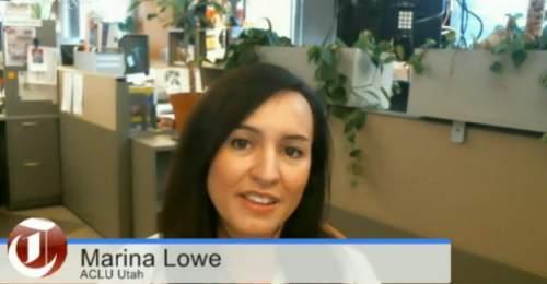 Marina Lowe of ACLU Utah was a guest on Trib Talk on Thursday, Sept. 18, 2014.