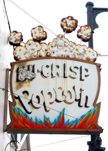 Steve Griffin     The Salt Lake Tribune  The Nu Crisp Popcorn building in Sugar House on Monday, March 23, 2015.