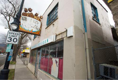 Steve Griffin     The Salt Lake Tribune  The Nu Crisp Popcorn building in Sugarhouse, Utah Monday, March 23, 2015.