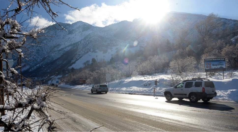 Al Hartmann  |  Tribune file photo The Mountain Accord, which has dealt with traffic problems in the two Cottonwood canyons, would become the Central Wasatch Commission if Salt Lake County Mayor Ben McAdams' proposal is approved. The new commission would have the authority to bond.
