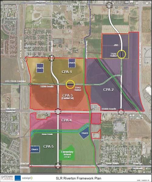 Suburban Land Reserve  |  Gateway Planning  A major development in Riverton.