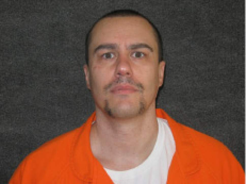 Courtesy  |  Utah Department of Corrections  Utah death row inmate, Troy M. Kell.