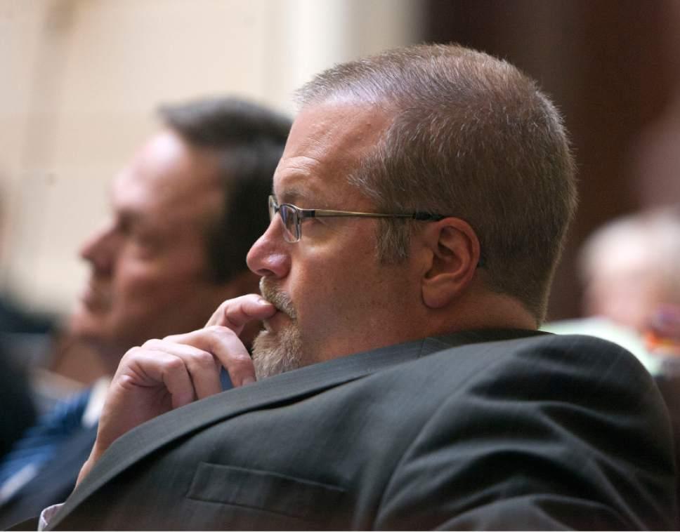 Steve Griffin |  Tribune file photo   Sen. Steve Urquhart's bill abolishing the death penalty in Utah advanced to the full Senate.