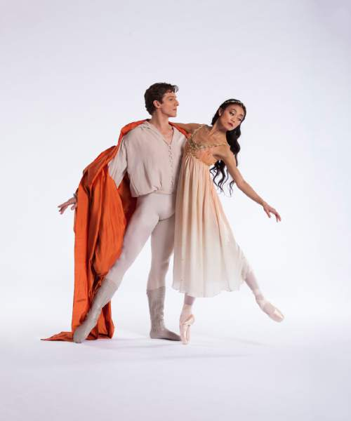 """Courtesy photo  Ballet West will perform """"Romeo and Juliet"""" by famed choreographer John Cranko on Feb. 12-20 at the Capitol Theatre in Salt Lake City. Pictured, Sayaka Ohtaki and Rex Tilton."""