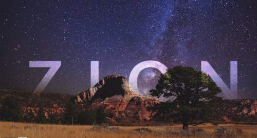 A screen shot from More Than Just Parks' short film on Zion National Park.