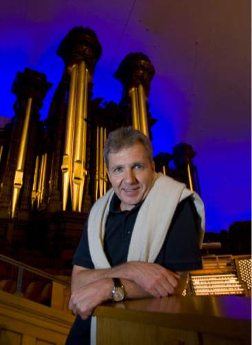 Al Hartmann  |  The Salt Lake Tribune Utah Symphony music director Thierry Fischer, shown in the Salt Lake Tabernacle before a 2011 collaboration with the Mormon Tabernacle Choir, will bring the orchestra back to the Tabernacle for two free performances -- and a recording -- of Mahler's Symphony No. 8 this week.