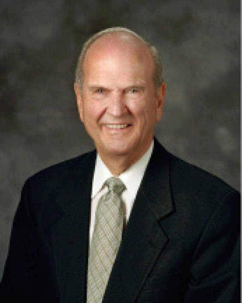 Courtesy LDS.org Russell M. Nelson is the president of the Quorum of The Twelve Apostles for The Church of Jesus Christ of Latter-day Saints.