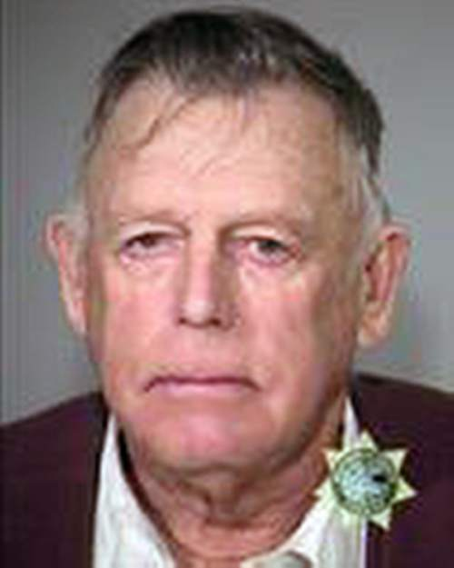 This Wednesday, Feb. 10, 2016 booking photo provided by the Multnomah County, Ore., Sheriff''s office shows Nevada rancher Cliven Bundy. Bundy, the father of the jailed leader of the Oregon refuge occupation, and who was the center of a standoff with federal officials in Nevada in 2014, was arrested in Portland, the FBI said Thursday, Feb. 11, 2016. (Multnomah County, Ore., Sheriff''s office via AP)