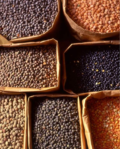 "The General Assembly of the United Nations named 2016 as the ""International Year of the Pulses,"" which include dry beans, peas, chickpeas and lentils, like this colorful collection from Zursun Idaho Heirloom Beans.  Source: Zursun Idaho Heirloom Beans"