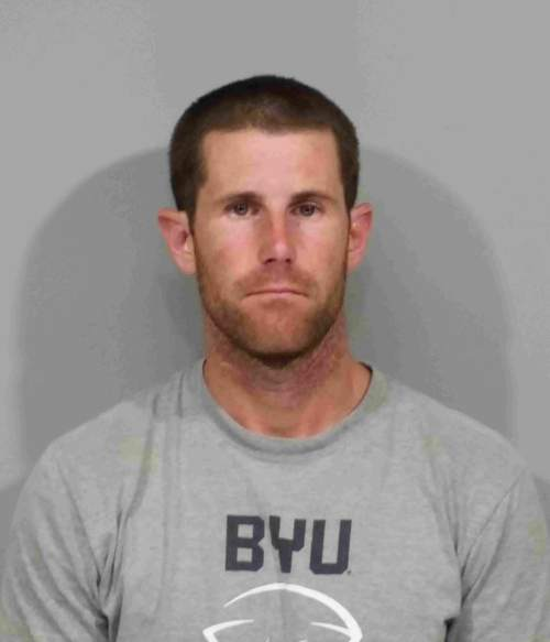 (Courtesy Gilbert Police Department)  Former Arizona Cardinals quarterback Max Hall was arrested on suspicion of possession of stolen items and cocaine, Gilbert police said.