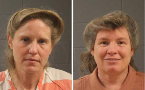 Courtesy  |  Washington County Sheriff's Office  Ruth Peine Barlow and Kristal Meldrum Dutson.