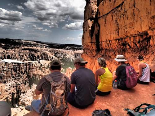 """Courtesy     Nikki Koontz  Southern Utah University will begin offering a """"Semester in the Parks"""" program in fall 2016, allowing students to live, study and work inside Bryce Canyon National Park."""