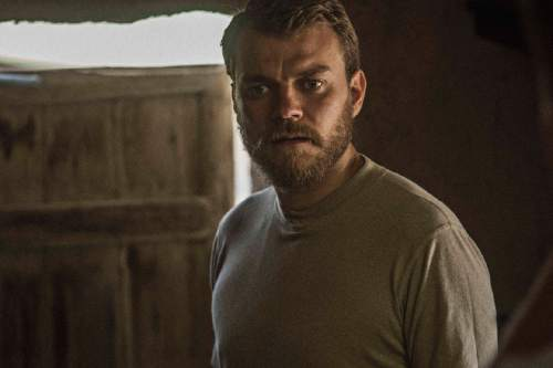 """   Magnolia Pictures  Claus Pedersen (Pilou Asbaek) is a Danish military officer in Afghanistan, in Tobias Lindholm's drama """"A War."""""""