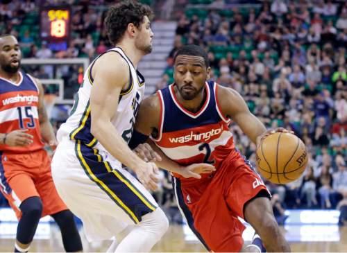 Jazz slow All-Star Wall, Wizards' fast break - The Salt Lake Tribune