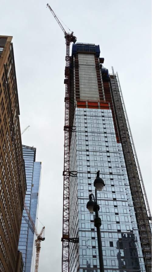 crane operators are sky-high stars in nyc