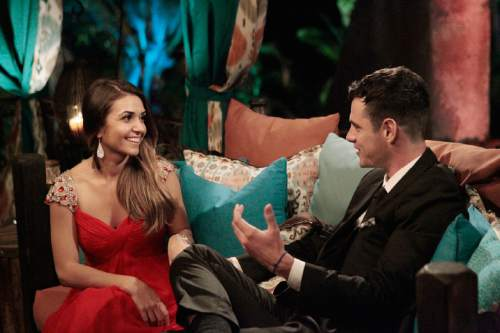 "Shushanna Mkrtchyan meets Ben Higgins on ""The Bachelor."" Courtesy  