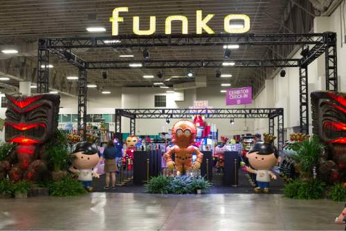 |  courtesy Salt Lake Comic Con The Funko Pop! display at Salt Lake Comic Con last September. Salt Lake Comic Con has formed a partnership with Pop Life Entertainment, the parent company of Funko Pop!, for merchandising at the Salt Lake event, and to create versions of the event in China, Thailand and the Philippines.