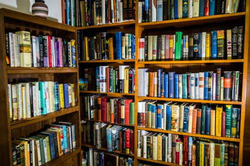 Chris Detrick     The Salt Lake Tribune Retired BYU professor Richard Isakson has collected early editions of all 88 Pulitzer Prize-winning novels and displays them in his home in Provo.