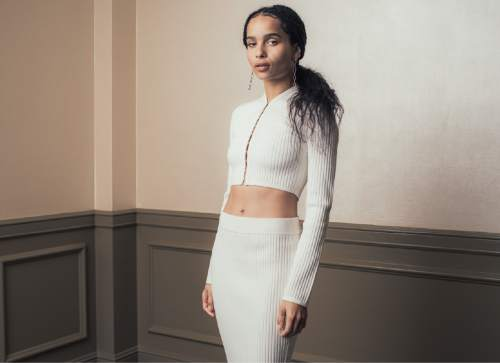 """In this March 5, 2016 photo, actress Zoe Kravitz poses for a portrait to promote her new film """"The Divergent Series: Allegiant"""" at The Four Seasons in Los Angeles. (Photo by Casey Curry/Invision/AP)"""