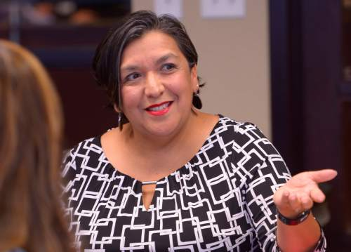 Leah Hogsten  |  Tribune file photo Rep. Rebecca Chavez-Houck, D-Salt Lake City, faces a challenge from Darin Mann, founder of a new progressive coalition of Bernie Sanders supporters.