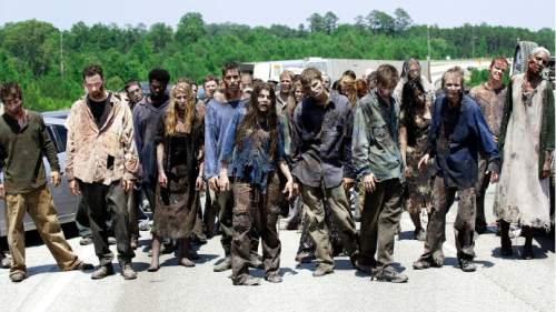 "A scene from ""The Walking Dead.""  Courtesy image"