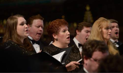 Leah Hogsten  |  The Salt Lake Tribune The American Festival Singers. American Festival Chorus presents St. Matthew Passion, by Johann Sebastian Bach, March 26, 2016 at The Cathedral of the Madeleine.  Bach wrote his St. Matthew Passion for a single purpose -- to present the Passion story in music at Good Friday vesper services. Bach's Passion retells the story of the events leading up to Jesus' crucifixion, dividing the music into two parts, first, the last supper and second, the betrayal and arrest of Jesus.