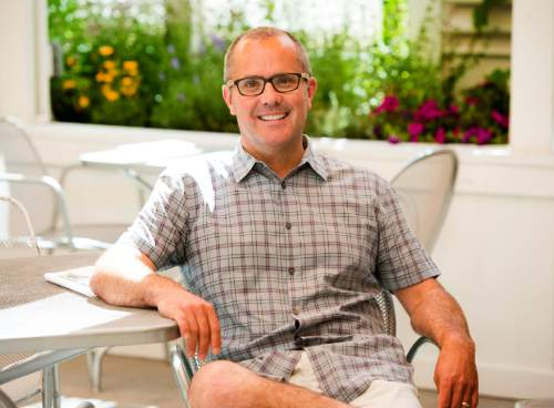 Rick Egan  |  The Salt Lake Tribune Mikel Trapp, owner of Cafe Trio Downtown, Cafe Trio Cottonwood, Fresco Italian and co-owner of Current Fish & Oyster and Under Current Bar and more, is pictured in this 2015 file photo.