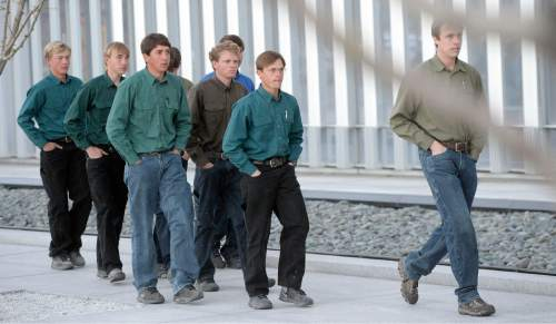 Al Hartmann  |  The Salt Lake Tribune  Lyle Jeffs' detention status will be reviewed in a hearing to begin at 8 a.m. Wednesday. There will likely be some FLDS men and women going in the courthouse as early at 7:30 a.m.