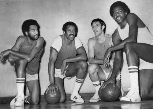 Ed Feeney  |  Chicago Tribune Photo  The Bulls had their first winning seasons starting in 1970, when they posted four consecutive seasons with 50 or more wins. On those teams were Norman Van Lier, left, team captain Chet Walker, the original Bull, Jerry Sloan, and Bob Love, Nov. 1, 1973.