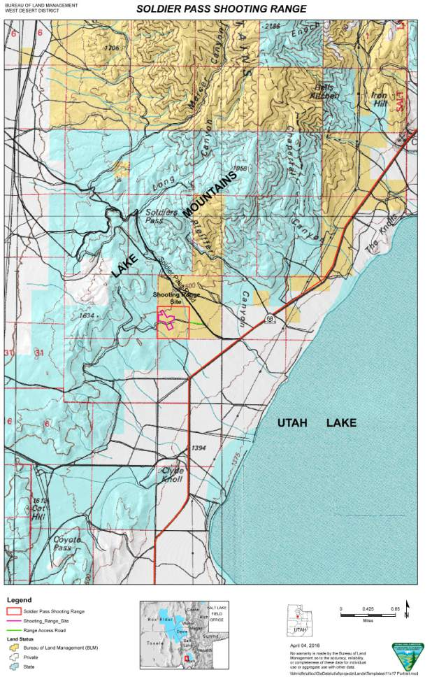 BLM transfers public lands to Utah County; parcel to be used as ...