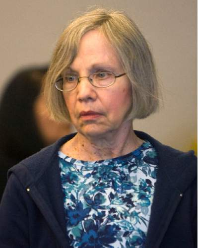 Al Hartmann  |  The Salt Lake Tribune  5/21/2010 A somber Wanda Barzee enters Judge Judith Atherton's district court in Salt Lake City for sentencing.