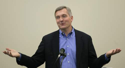 Rick Bowmer  |  AP file photo Former Rep. Jim Matheson, D-Utah, is leaving the high-power D.C. lobby firm of Squire Patton Boggs to become the CEO of the National Rural Electric Cooperative Association.