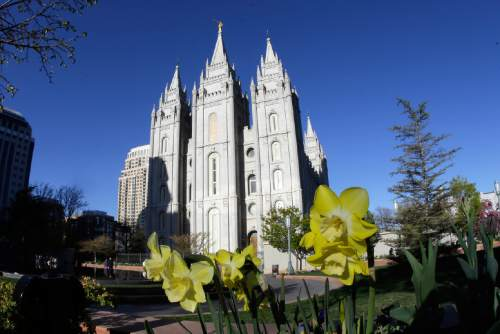 The Salt Lake LDS Temple (AP Photo/Rick Bowmer)