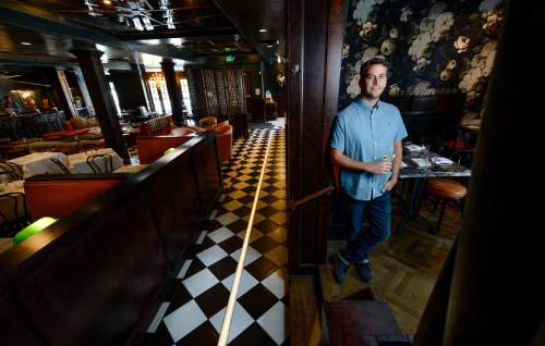Francisco Kjolseth | The Salt Lake Tribune In this 2015 file photo, Scott Evans of the Pago Restaurant Group, owner of Pago, Finca, Hub & Spoke and East Liberty Tap House, is pictured. The Group will soon add Trestle Tavern in the space formerly occupied by Fresco in Salt Lake City's 15th and 15th neighborhood.