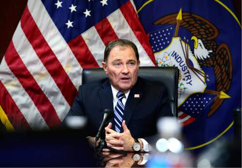 Scott Sommerdorf       Tribune file photo Utah Gov. Gary Herbert issued a handful of vetoes late Wednesday as he faced the deadline for action on some 453 bill passed during the recent legislative session.