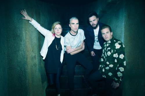 Chart-topping band Neon Trees will return home to Provo, to play an acoustic set at a benefit concert at Velour Live Music Gallery on April 29. Mathew Hartman  |  courtesy