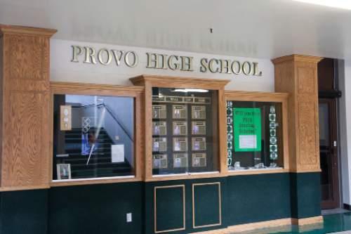 Courtesy  |  Provo School District  Provo High
