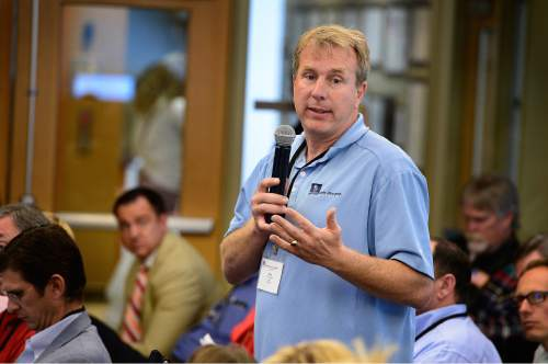 Scott Sommerdorf   |  Tribune file photo Former state representative Chris Herrod, an organizer of the Ted Cruz campaign in Utah, says it makes sense to require prospective delegates to sign a pledge to support Cruz through multiple ballots.