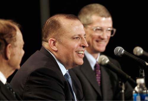 62371ba4e Tom Thibodeau answers a question from the media after he was introduced as  the new Minnesota. Minnesota Timberwolves players ...
